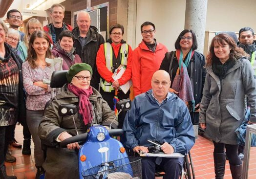 From Theory to Practice: Stakeholders' Walkability/Wheelability in Burnaby